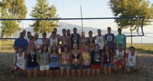 Ναύπακτος: Με επιτυχία ολοκληρώθηκε το «12ο Τουρνουά Beach Volley»