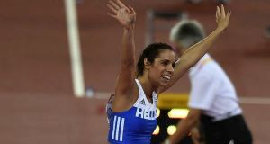 Η Κατερίνα Στεφανίδη έτοιμη να «πετάξει» σήμερα για το χρυσό…