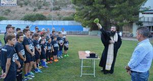 Με τις ευλογίες του π. Οδυσσέα ξεκίνησε και επίσημα ο…