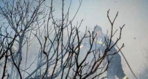Πυρκαγιά σε χωράφι στην Κάτω Βασιλική (Φωτογραφία – Βίντεο)