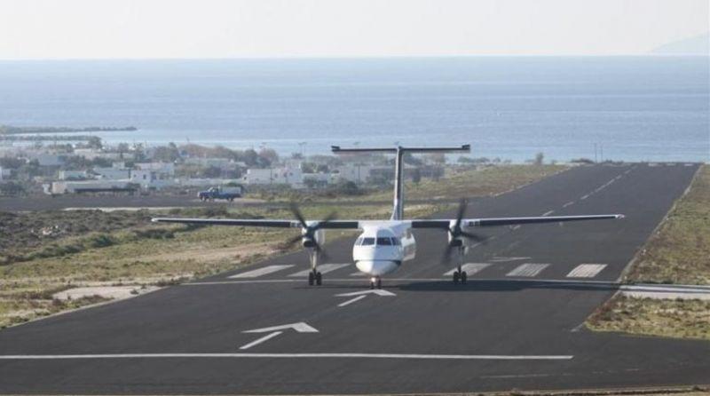 Κάθετη πτώση 74,3% στα ελληνικά αεροδρόμια το πρώτο επτάμηνο