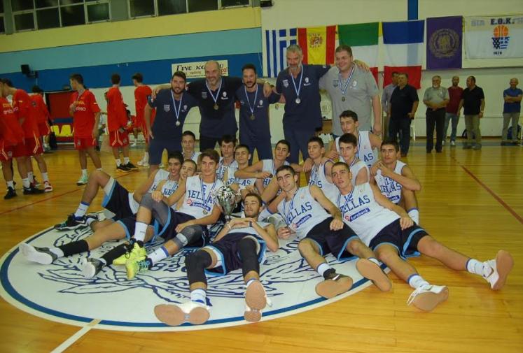 Μεσολόγγι: Η Εθνική Ομάδα Παμπαίδων κατέκτησε το Κύπελλο