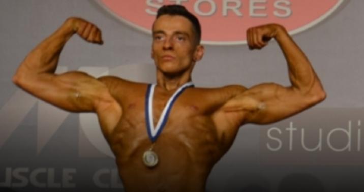 Διάκριση σε αγώνες Bodybuilding από το Ναυπάκτιο Άκη Αθανασόπουλο (Φωτό)