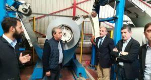 Επίσκεψη Περιφερειάρχη Απ. Κατσιφάρα σε επιχειρήσεις της ΒΙΠΕ Πάτρας