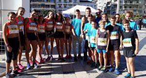Γ.Ε. Αγρινίου: Δυναμική παρουσία της ομάδας στίβου στο Run Greece…