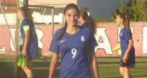 Ρούλα Πούλιου, για πρώτη φορά αθλήτρια της ομάδας Μεσολόγγι 2008…