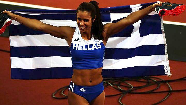 Κορυφαία αθλήτρια της Ευρώπης για το 2017 αναδείχθηκε η Κατερίνα Στεφανίδη