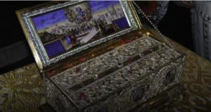 Υποδοχή της Τιμίας Ζώνης της Θεοτόκου στην Ιερά Μητρόπολη Αιτωλίας…