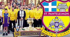 Έλληνας ιερέας έφτιαξε στο Λονδίνο την ομάδα ποδοσφαίρου St. Panteleimon…