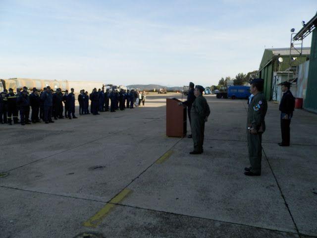 O Αρχηγός της Τακτικής Αεροπορίας στην 4η ΜΣΕΠ, στο Α/Απ Ακτίου και στο FOB Ακτίου (Φωτό)