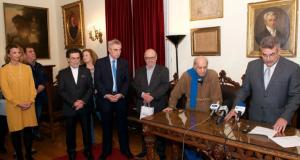 Ο Δήμος Ναυπακτίας τίμησε τον Αλέκο Φασιανό
