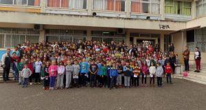 Επίσκεψη παικτών του Παναιτωλικού στο 1ο Δημοτικό Σχολείο Αγίου Κωνσταντίνου
