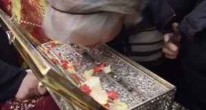 Η Τίμια Ζώνη της Παναγίας στο Γαλατά Ναυπακτίας (Βίντεο)