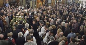 Μεγαλειώδης υποδοχή της Τιμίας Ζώνης της Θεοτόκου στο Μεσολόγγι (Φωτό)