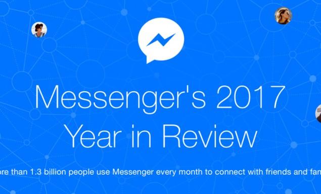 1,3 δισ. χρήστες ανά μήνα συνομίλησαν το 2017 μέσω του Facebook Messenger