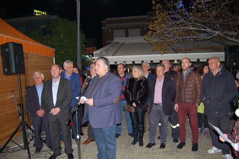 Έναρξη Χριστουγεννιάτικων εκδηλώσεων στο Δήμο Ιερής Πόλης Μεσολογγίου