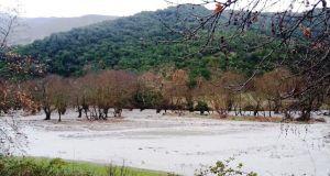 Υπερχείλισε το ποτάμι της Νήσσας (Φωτό)