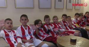 Η Σχολή Αγρινίου του Ολυμπιακού στην αποστολή της πρώτης ομάδας…