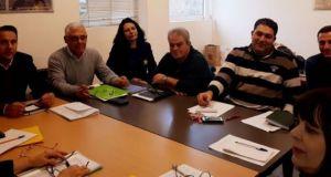Σύσκεψη για την εφαρμογή εθνικών και κοινοτικών προγραμμάτων στον πρωτογενή…