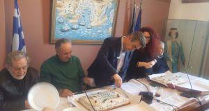 Την πρωτοχρονιάτικη πίτα για το 2018 έκοψε ο Δήμος Ακτίου-Βόνιτσας…