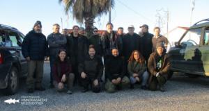 Με επιτυχία οι Μεσοχειμωνιάτικες Καταμερτήσεις στο Εθνικό Πάρκο Λιμνοθαλασσών Μεσολογγίου-Αιτωλικού