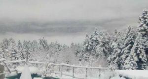 Ορεινή Ναυπακτία: Tα πρώτα χιόνια του 2018 – Η κατάσταση…