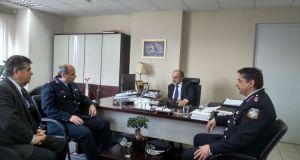 Συνάντηση Απ. Κατσιφάρα με τον Γενικό Περιφερειακό Αστυνομικό Διευθυντή Δυτ.…