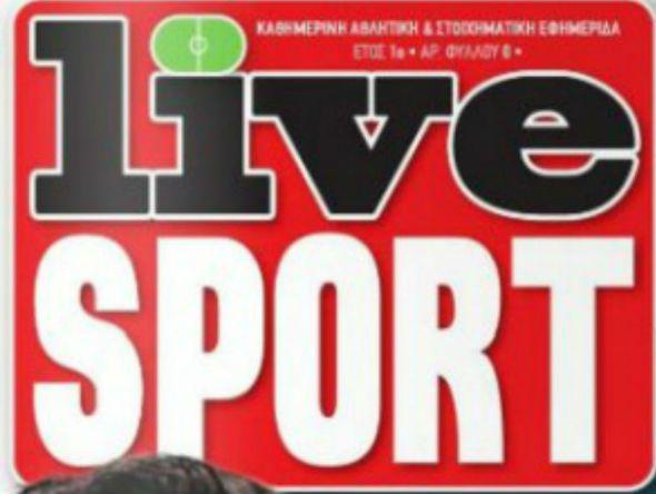 Άλλαξε χέρια η εφημερίδα «Live Sport»