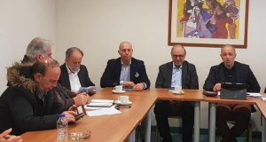 Συμμετοχή του Δημάρχου Ναυπακτίας Π. Λουκόπουλου στη συνεδρίαση του Σ.Π.Ο.Α.Κ.