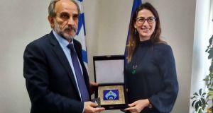 Συνάντηση του Απόστολου Κατσιφάρα με τη Γενική Πρόξενο της Τουρκίας…