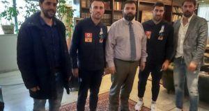 Συνάντηση του Γ. Βασιλειάδη με τους αρχηγούς της Εθνικής