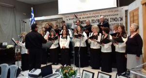Η Χορωδία του Πνευματικού Κέντρου Μεσολογγίου στο 15ο Φεστιβάλ Αλιβερίου
