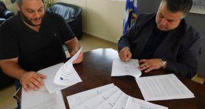 Έπεσαν οι υπογραφές για το Μουσείο Λιμένος στο Αιτωλικό (Φωτό)