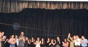 Eυχαριστήριο της Θεατρικής Ομάδας του 4ου ΓΕ.Λ. Αγρινίου
