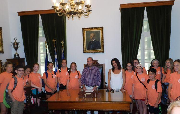 Επίσκεψη των μελών της Ακαδημίας «Σωκράτης» στο Δήμο Ι. Π. Μεσολογγίου