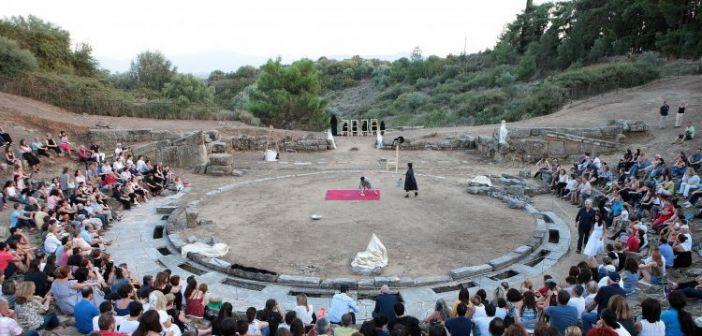 Στο Αρχαίο Θέατρο Στράτου ολοκληρώθηκε η «διαδρομή» του ΔΗ.ΠΕ.ΘΕ. Αγρινίου (Φωτό)