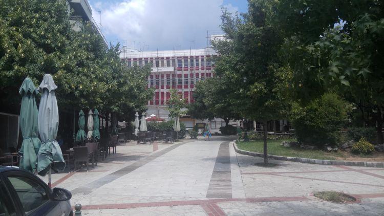 Τα… αποκαλυπτήρια στο Δημαρχιακό Μέγαρο Αγρινίου, μετά τις επείγουσες εργασίες! (Φωτό)