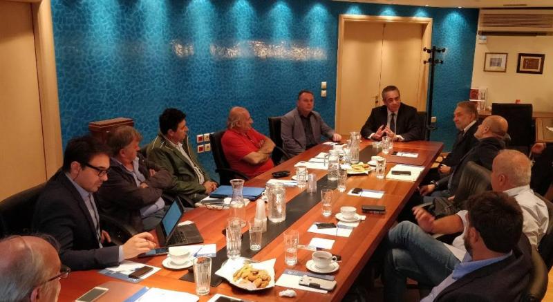 Συνάντηση Στέργιου Πιτσιόρλα με την διοίκηση του ΠΑΣΕΒΙΠΕ