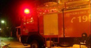 Φωτιά σε καλαμιές μεγάλης έκτασης στη Στράτου Δ. Αγρινίου (Φωτό)