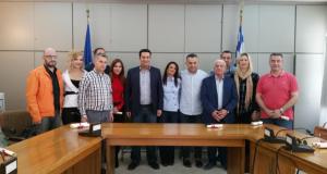 Αγρίνιο: Συνάντηση Δημάρχου με μέλη της θεατρικής ομάδας ΘέατροPolice