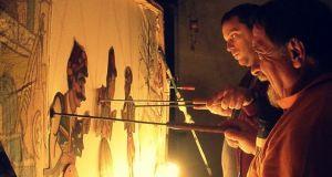 """Αγρίνιο-Φαντασία: Ο Χρ. Πατρινός με τον """"Καραγκιόζη στο μαγεμένο δάSOS"""""""