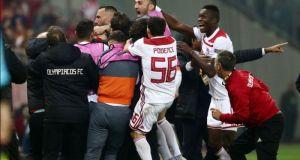 Europa League: Ιστορική πρόκριση για τον Ολυμπιακό