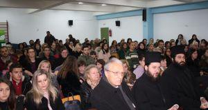 Χριστουγεννιάτικη εκδήλωση των Κατηχητικών Σχολείων της ενορίας Αγ. Τριάδος Αγρινίου