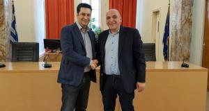 Αγρίνιο: Ο Γιώργος Κουρουμπλής υποψήφιος με τον Γιώργο Παπαναστασίου