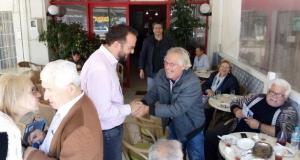 Ο Νεκτάριος Φαρμάκης στην Ηλεία για τα νέα… εργοστάσια της…