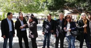 Η περιοδεία του Απ. Κατσιφάρα στην Ζαχάρω και το στοίχημα…