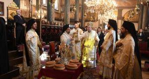 Η πανήγυρις του Πάνσεπτου Πατριαρχικού Ναού του Αγίου Γεωργίου στο…