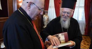 Ο ΡΚαθολικός Πατριάρχης των Συροχαλδαίων Mar Louis Raphael I Sakoστο…