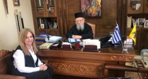 Συνάντηση Χρ. Σταρακά με τον Μητροπολίτη Αιτωλίας-Ακαρνανίας κ.κ. Κοσμά
