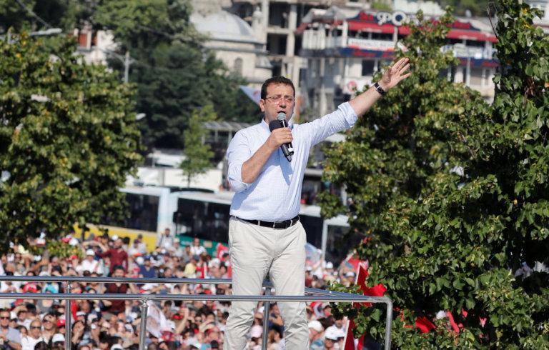 Κωνσταντινούπολη: Νίκη Ιμάμογλου δείχνουν τα πρώτα αποτελέσματα